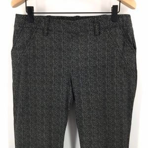Cato Contemporary Skinny Patterned Dress Pants